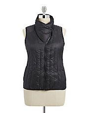 Plus Down Filled Puff Vest