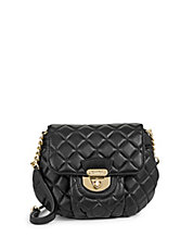 Chelsea Mini Quilted Leather Crossbody