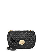 Chelsea Quilted Leather Crossbody