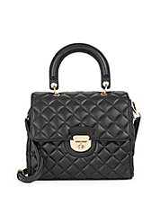 Chelsea Quilted Leather Satchel