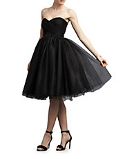 Kenna Strapless Tulle Party Dress