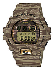 Mens Camo Oversized AnaDigi Watch GDX6900TC-5