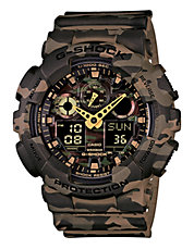 Mens Camo Standard AnaDigi Watch GA100CM-5