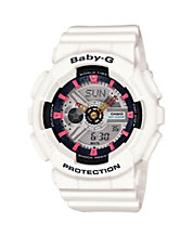 Womens Analog Baby G Sneaker Colours BA110SN-7A Watch