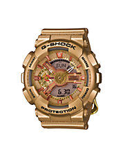 Womens Analog S-Series Crazy Gold Watch GMAS110GD4A2