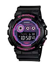 Mens Digital G-Shock Neon Watch GD120N-1B4
