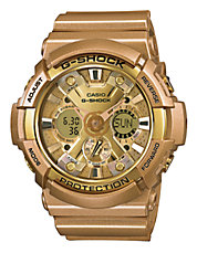 Mens Crazy Gold Oversized Watch GA200GD-9