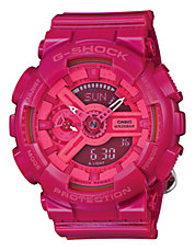 Womens Neon Oversized AnaDigi Watch GMAS110CC-4A