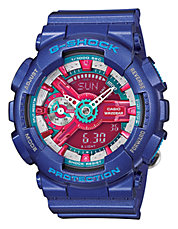 Womens Hyper Colour Oversized AnaDigi Watch GMAS110HC-2A