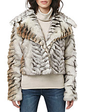 Jackie-O Faux Fur Jacket