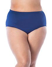 86902160ce Plus Solids High Waist Bikini Bottom