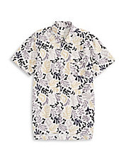 Bruce Coral Button Shirt