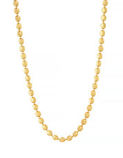 Gold Plated No Stone Necklace