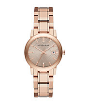 The City Tonal Rose Goldtone Watch