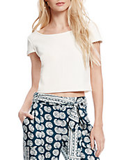 Lexi Jacquard Crop Top