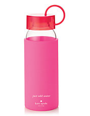 Pink Colorblock Water Bottle