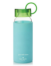 Turquoise Colorblock Water Bottle