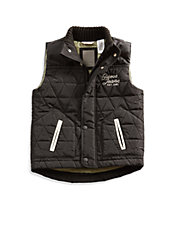Little Boy Quilted Puffer Vest 2-7