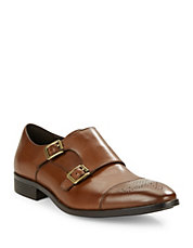 Cabot Leather Monk Shoes