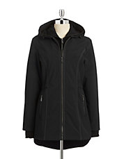 Essential Soft Shell Hooded Gilet Coat