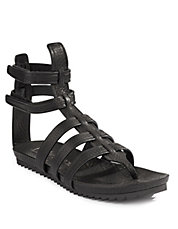 Virtue Leather Gladiator Sandals