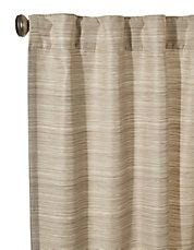 emery rod pocket or back tab curtain