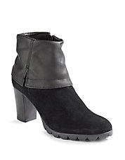 Dip Rock Heeled Booties