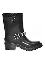 Moto Chain Rainboot