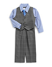 Four-Piece Gingham Formal Set