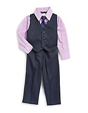 Four-Piece Striped Formal Set