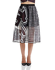 Warrior Weave Midi Skirt