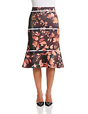 Fall Leaves Scuba Skirt