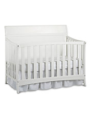 Georgetown Convertible Crib in Snow White