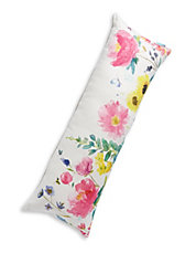 Watercolour Floral Lounge Pillow