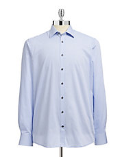 Stones Striped Sport Shirt