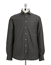 Tonal Patterned Dress Shirt