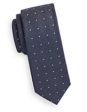 Dotted Skinny Tie