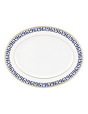 Darius Gold Bone China Serving Platter