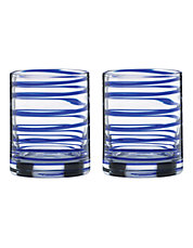 Charlotte Street Double Old Fashioned Glasses