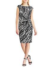 LAUREN RALPH LAUREN · Burnout Cutout Shoulder Gown. $265.00. Printed Jersey Sheath  Dress