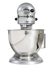 Custom Stand Mixer Metallic Chrome