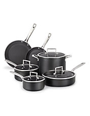Professional Hard Anodized Non-Stick 10 Piece Set