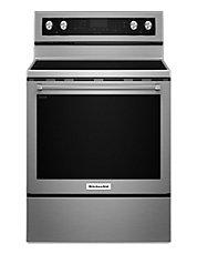 30' 6.4 Cu. Ft. Capacity 5-Element Freestanding Electric Convection Range with Even-Heat True Convection