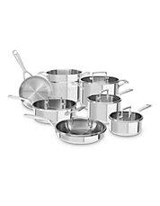 Tri-Ply Stainless Steel 12 Piece Set