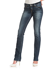 Mid Rise Slim Stretch Jeans
