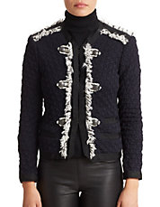 Lana Tweed Cropped Jacket