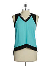 Mesh Accented Tank
