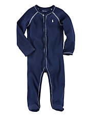 Long Sleeve Footed Coverall
