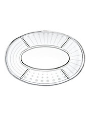 Cheers 5 Section Oval Platter