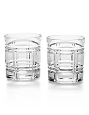 Two-Piece Greenwich Double Old-Fashioned Glass Set
